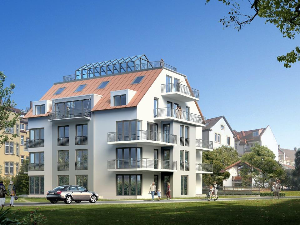 Maison à Rennes pour multifamilles dessinée par un architecte rennais